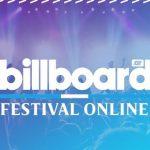 Billboard FESTIVAL ONLINE Solidario 09/07