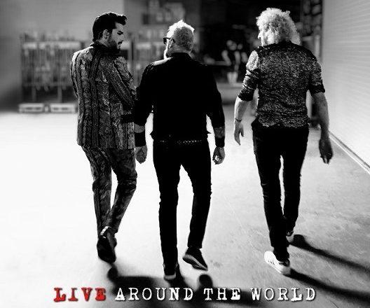 QUEEN + ADAM LAMBERT LANZARÁN SU PRIMER ÁLBUM EN VIVO: «LIVE AROUND THE WORLD»