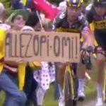 Detuvieron a la mujer que desató un accidente masivo en el Tour de Francia tras cuatro días de búsqueda.